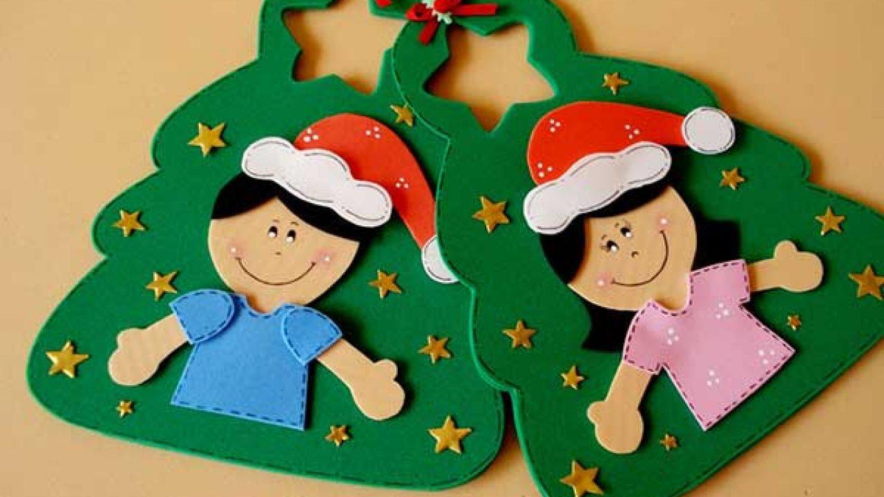 Lembrancinhas De Natal Em Eva Para Educacao Infantil