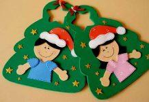 Lembrancinhas de natal em EVA sacolinha