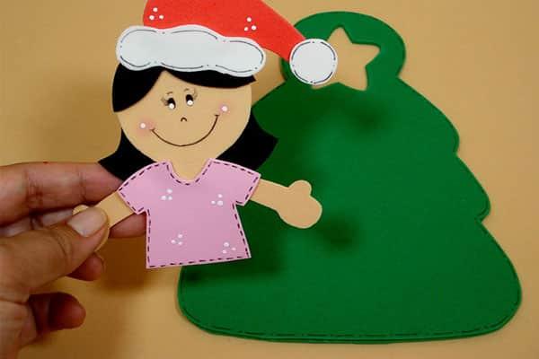 Lembrancinhas de natal em EVA tutorial