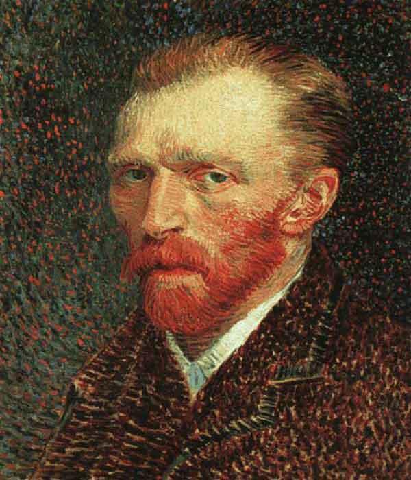 Quadro Van Gogh pontilhismo