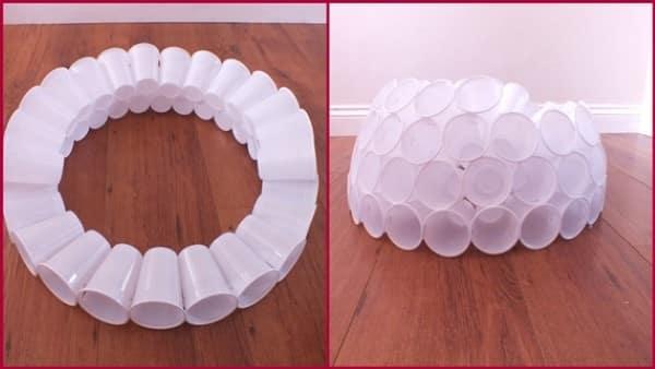 Copos de Plástico - Estrutura