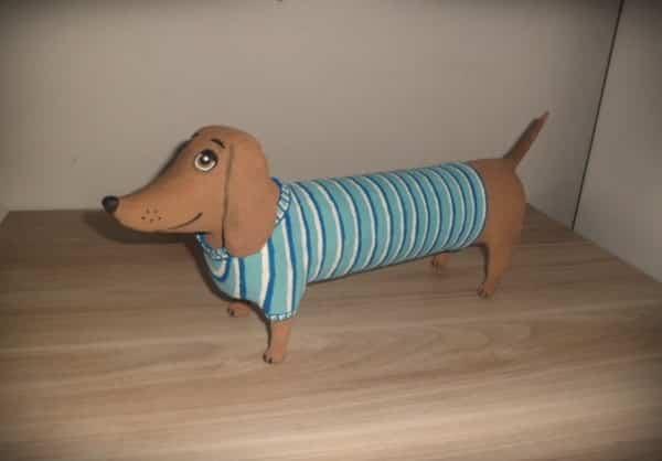 cachorro papel mache