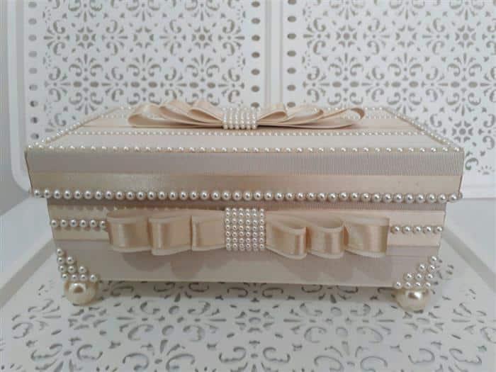 caixa de mdf decorada