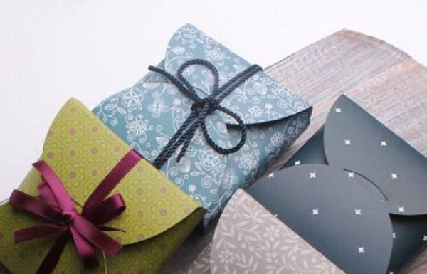 caixa de papel cartão estampado