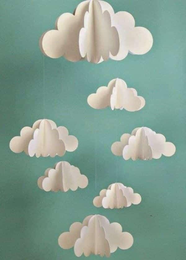 móbile chuva de amor