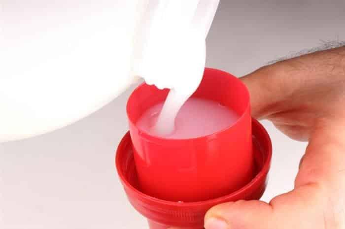 como fazer sabão líquido