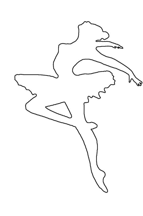 bailarina com saia