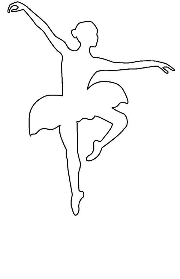 moldes de bailarinas gratis
