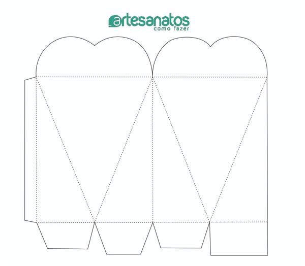 moldes de caixas personalizadas