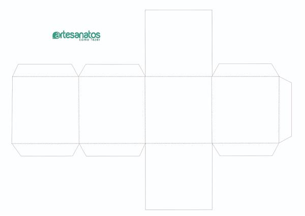 Moldes De Caixas De Papel 15 Modelos Para Imprimir