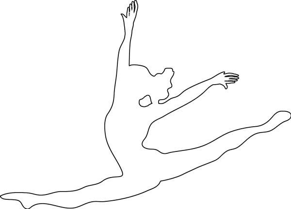 molde de bailarina 3d
