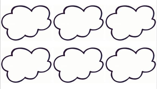 molde de nuvem almofada