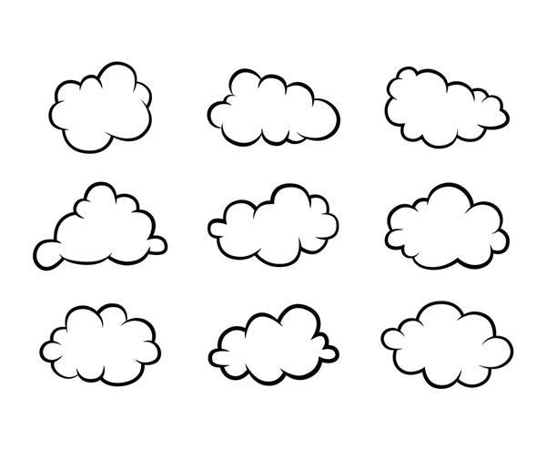 molde de nuvem em eva