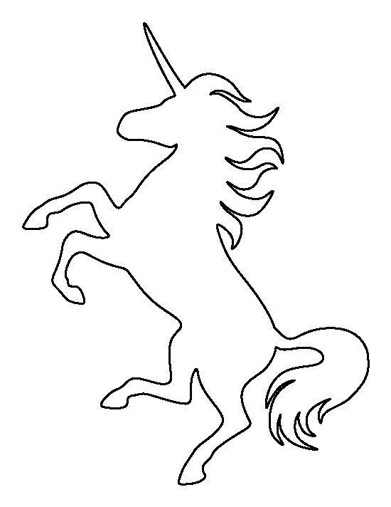 molde de unicornio grande