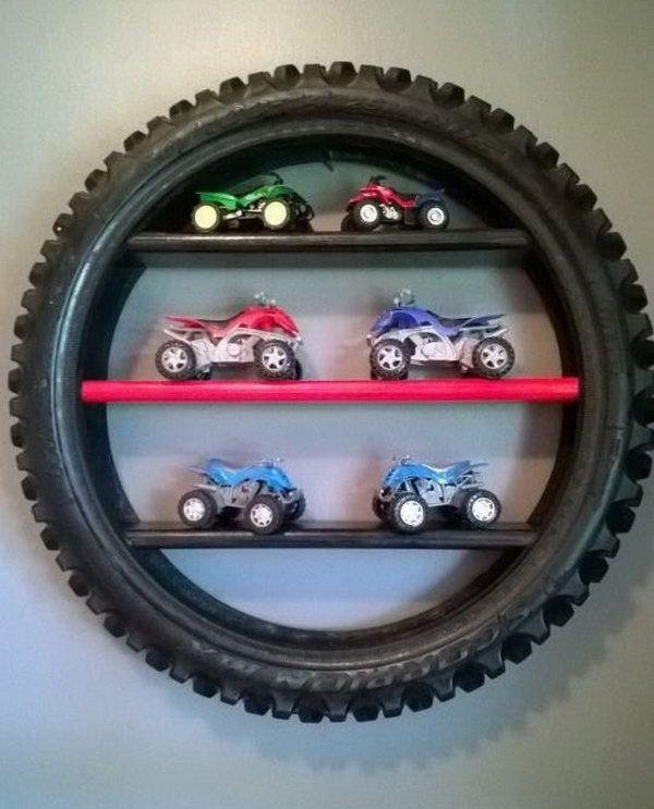 reaproveitamento de pneu