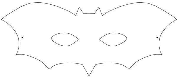 molde de morcego para imprimir