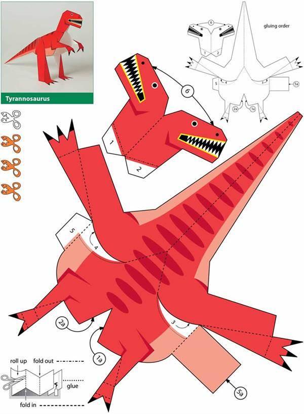 moldes de dinossauro para festa infantil