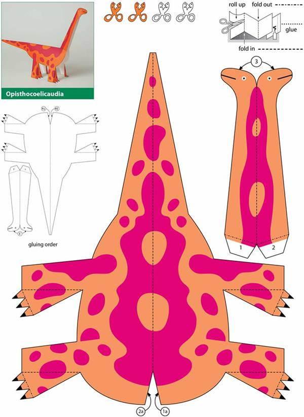dinossauro em tecido