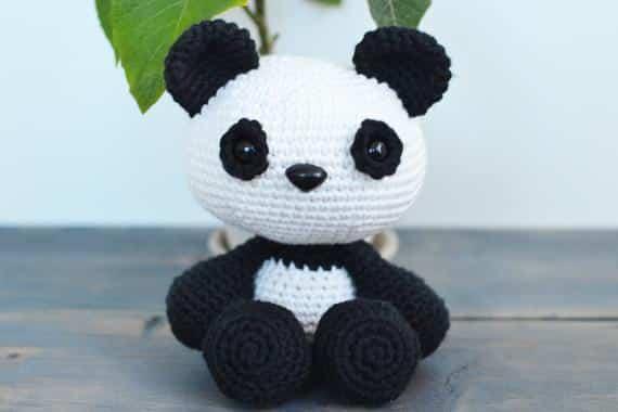 Urso Panda - Amigurumi Curitiba | Urso panda | 380x570