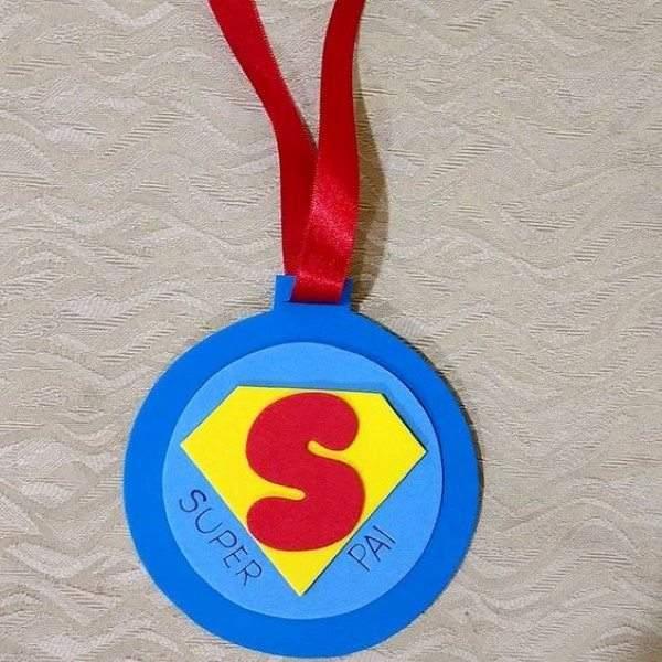 medalha de eva super pai