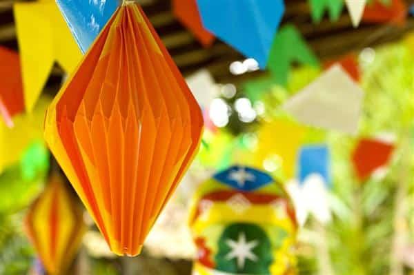 Decoração de festa junina infantil