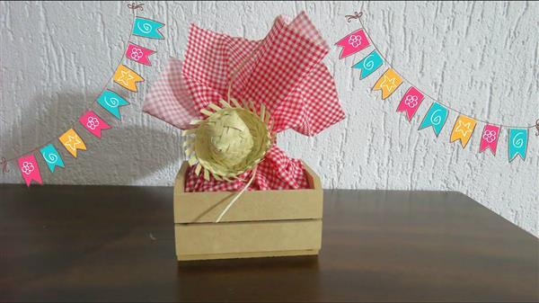 lembrancinhas de festa junina com tecido