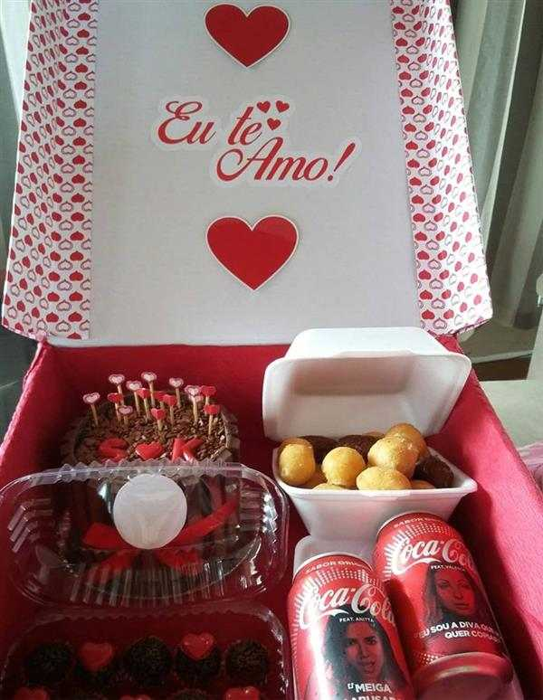 festa na caixa romantica