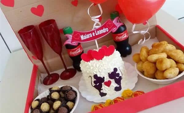 Festa na Caixa Dia dos Namorados: ideias