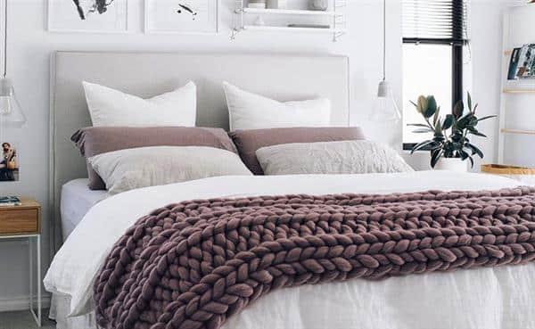 cobre pés de trico