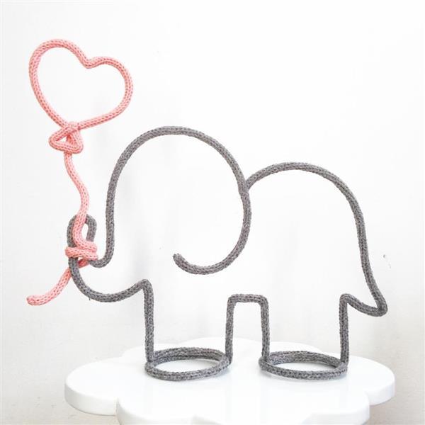 elefante com coração