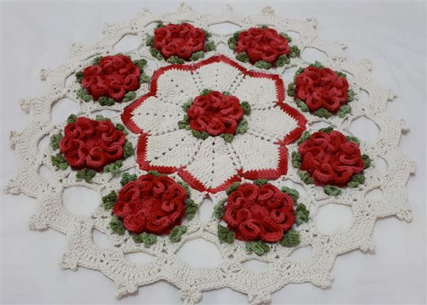 ideias de tapetes de crochê
