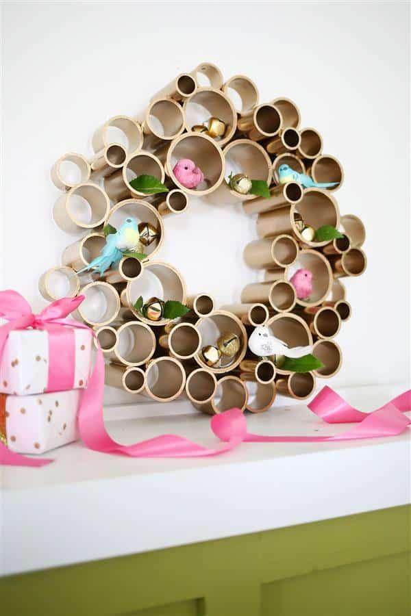 enfeites de natal com material reciclado