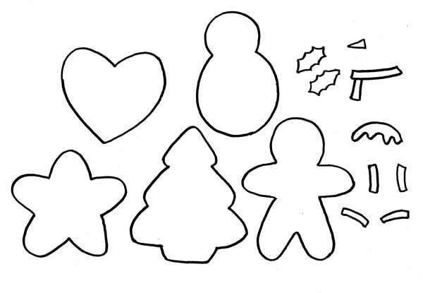 moldes de natal