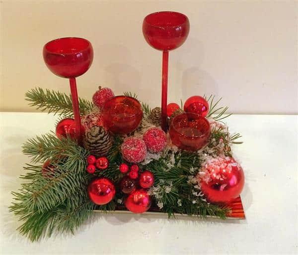 decoração com taças