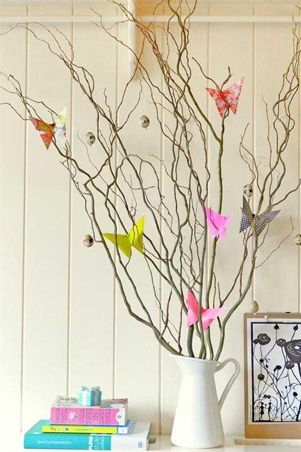 borboletas de papel passo a passo
