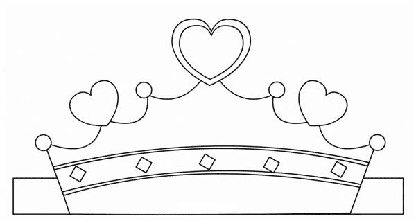 molde de coroa para imprimir