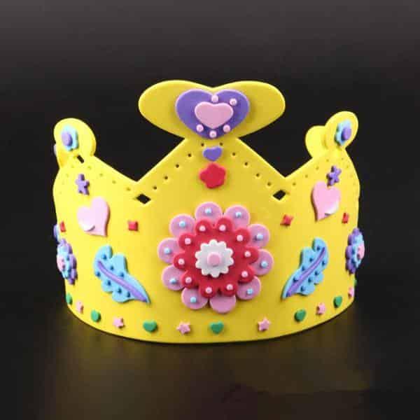 coroa de princesa em eva