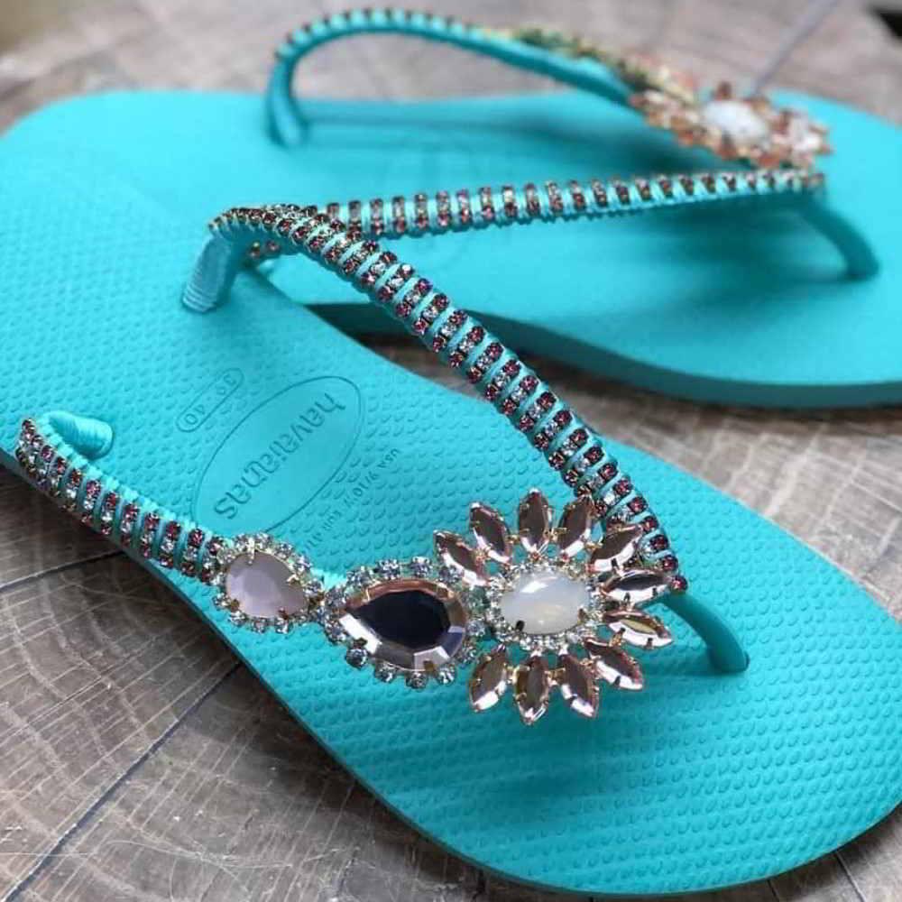 joias nos pés