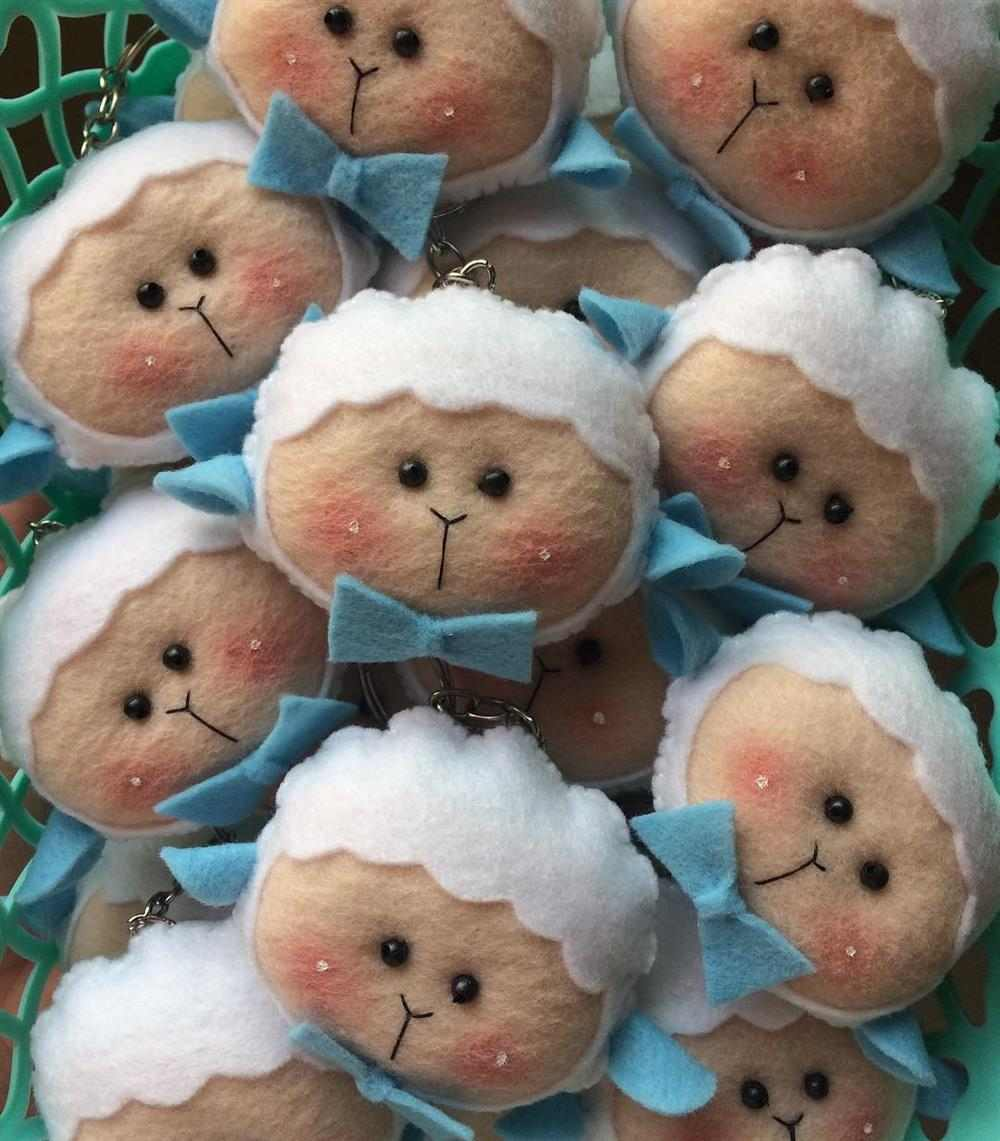 ovelha de feltro