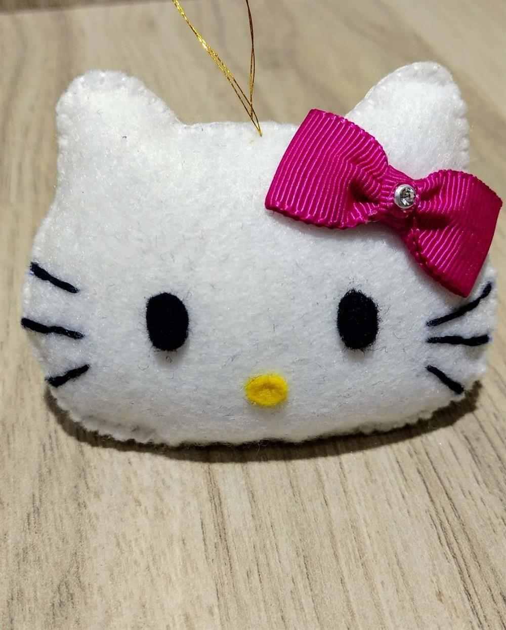 hello kitty de feltro