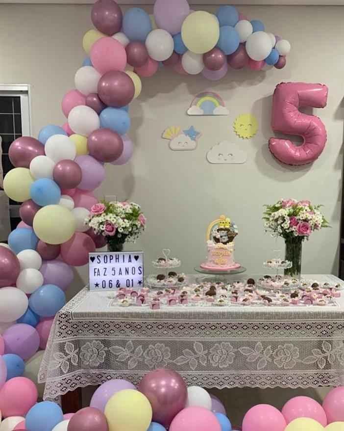 arco  para festa de aniversário