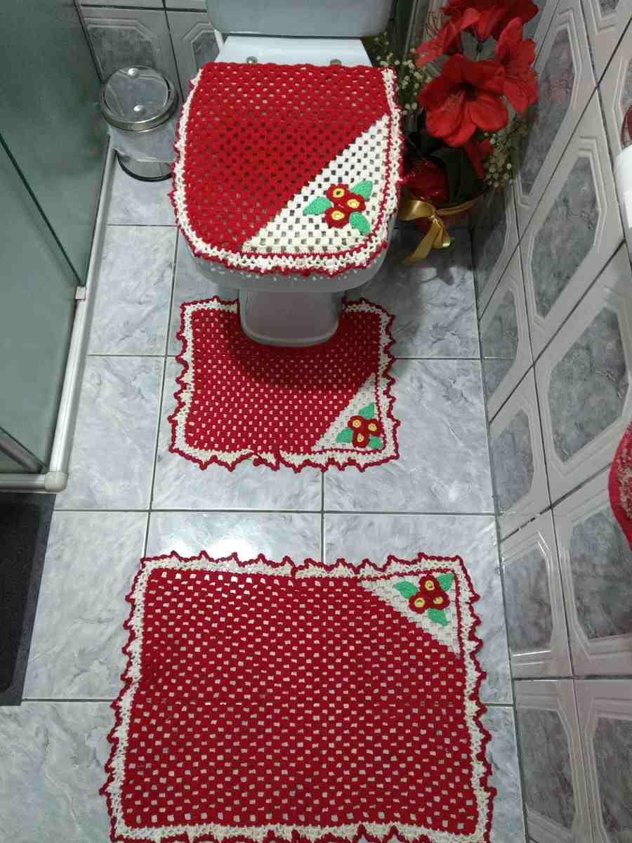 tapete para banheiro