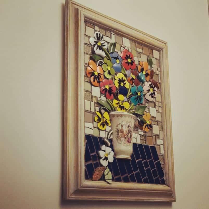quadro de mosaico