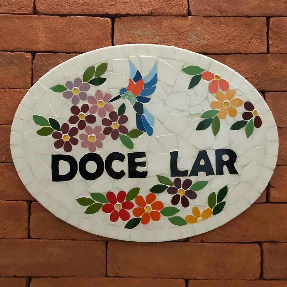 material usado em mosaico