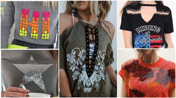 dicas de como customizar camisetas com criatividade