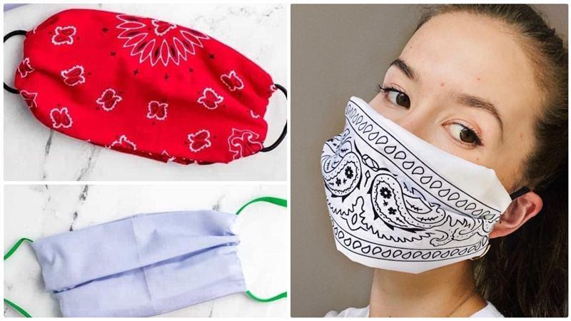 como fazer mascara sem costura passo a passo