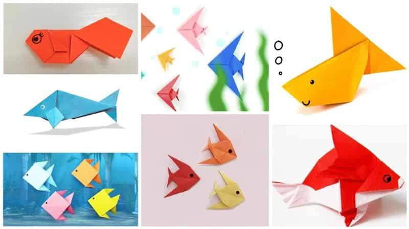 origami de peixe