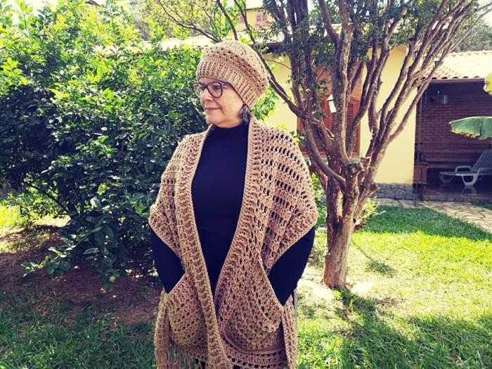 cachecol croche batik