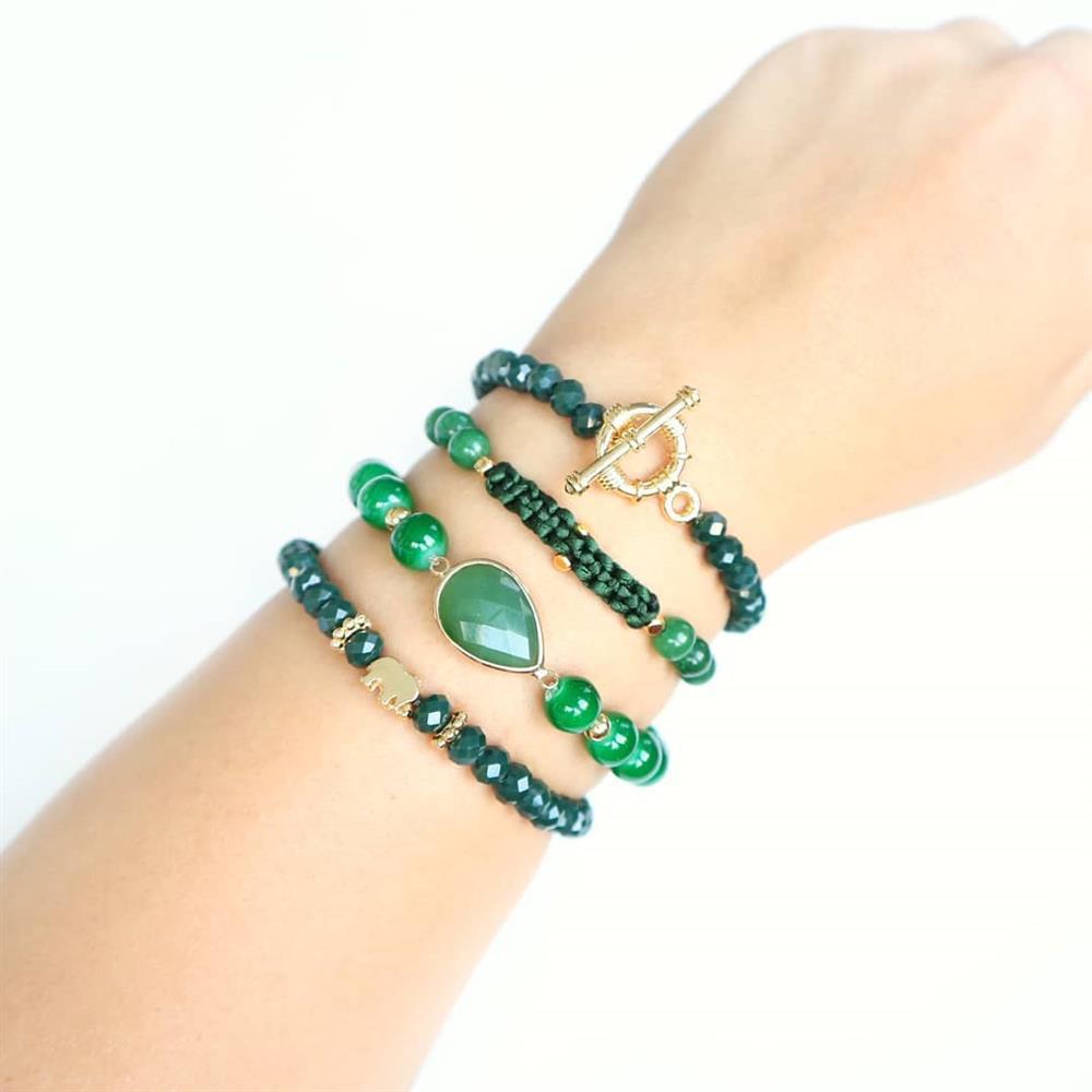 ideias criativas na cor verde