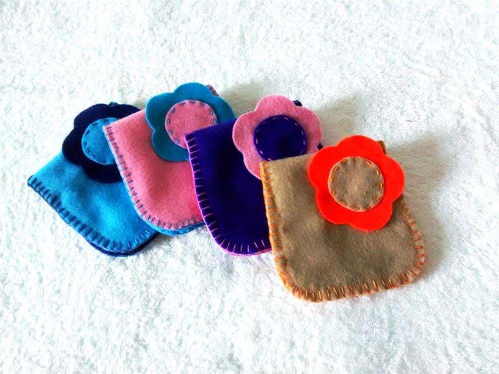 de feltro para mini absorventes